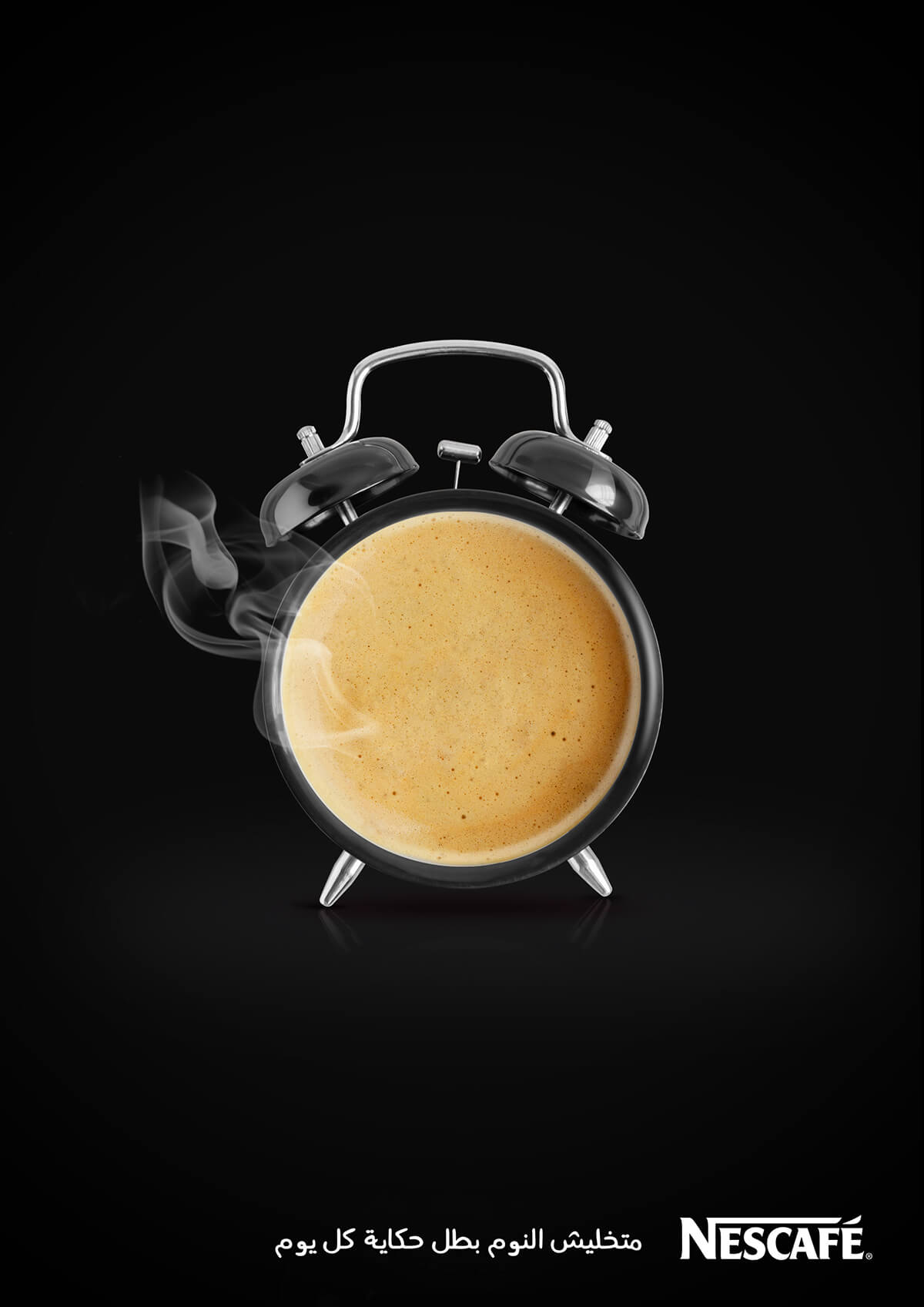 Nescafe Print Ad