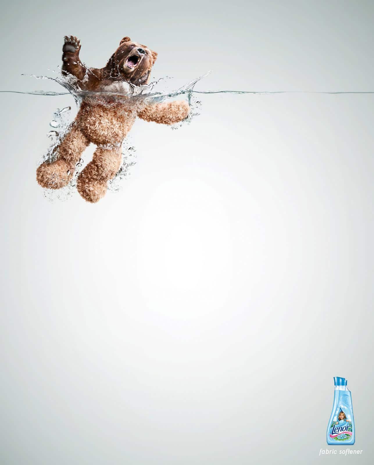Lenor. Print advertising