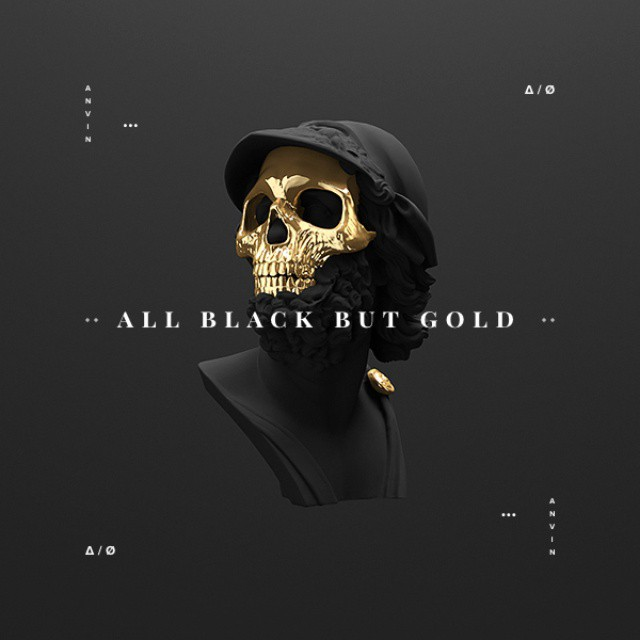 "Fashion killa ""All black but gold"""