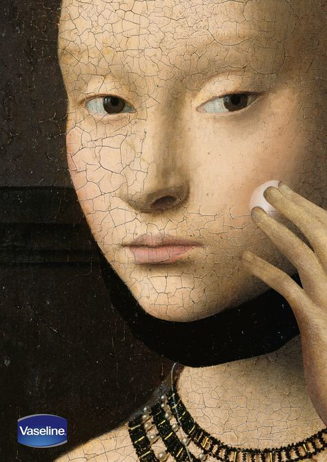 Vaseline. The Cracked Paintings Campaign