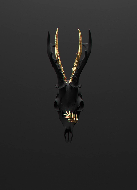 """Fashion killa """"All black but gold"""""""