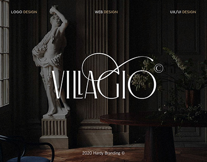 Villagio Website Design - mini
