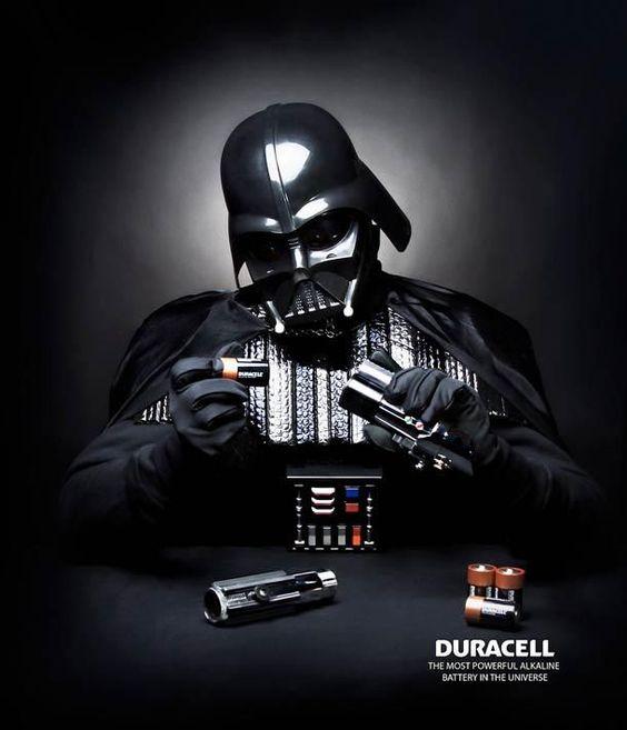 Vader Duracell