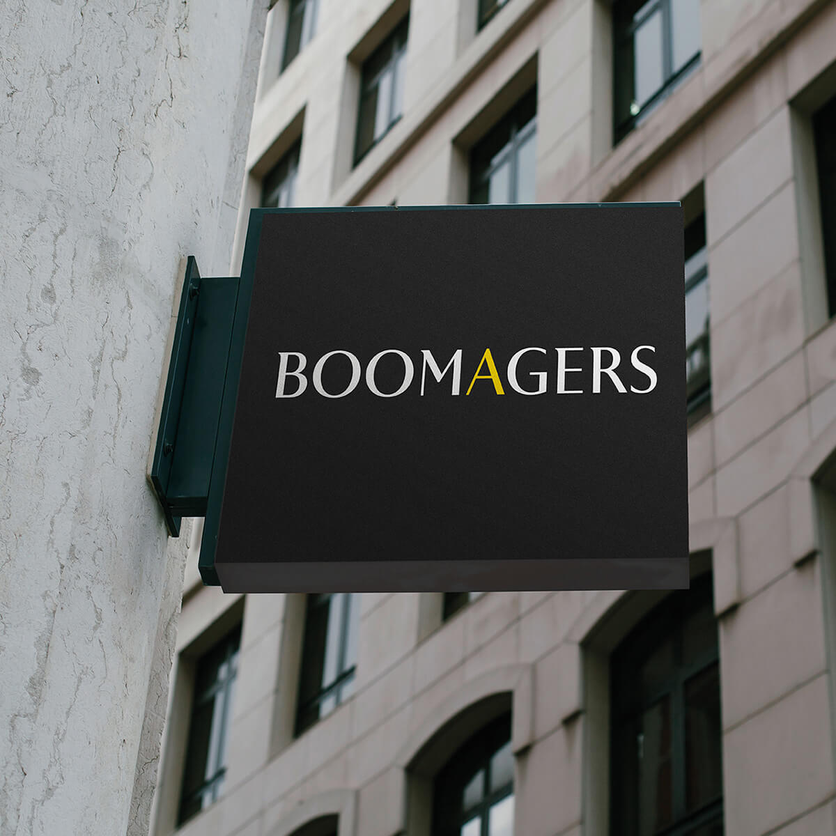 BoomAgers - Branding for New York agency