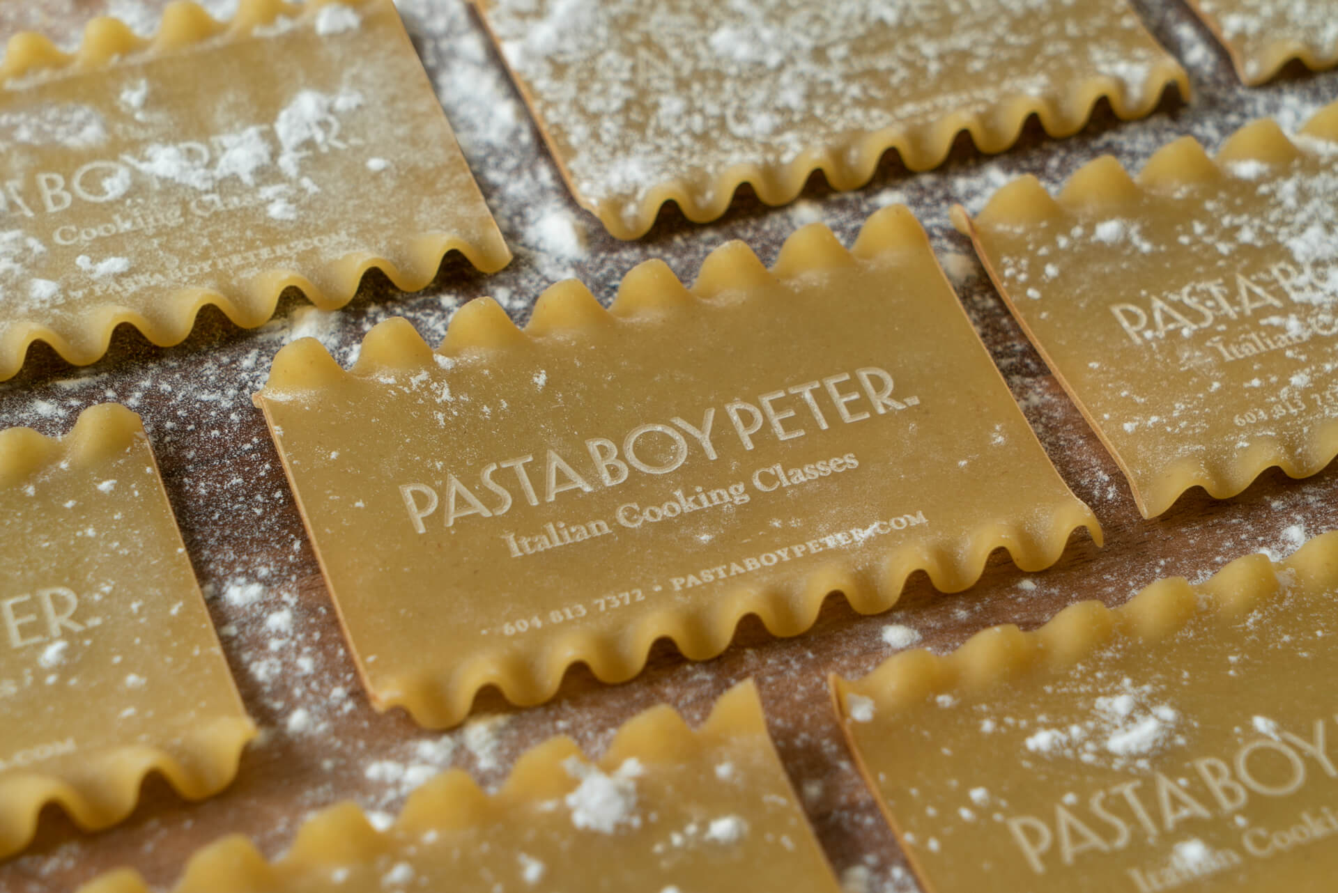 Pasta Business Cards