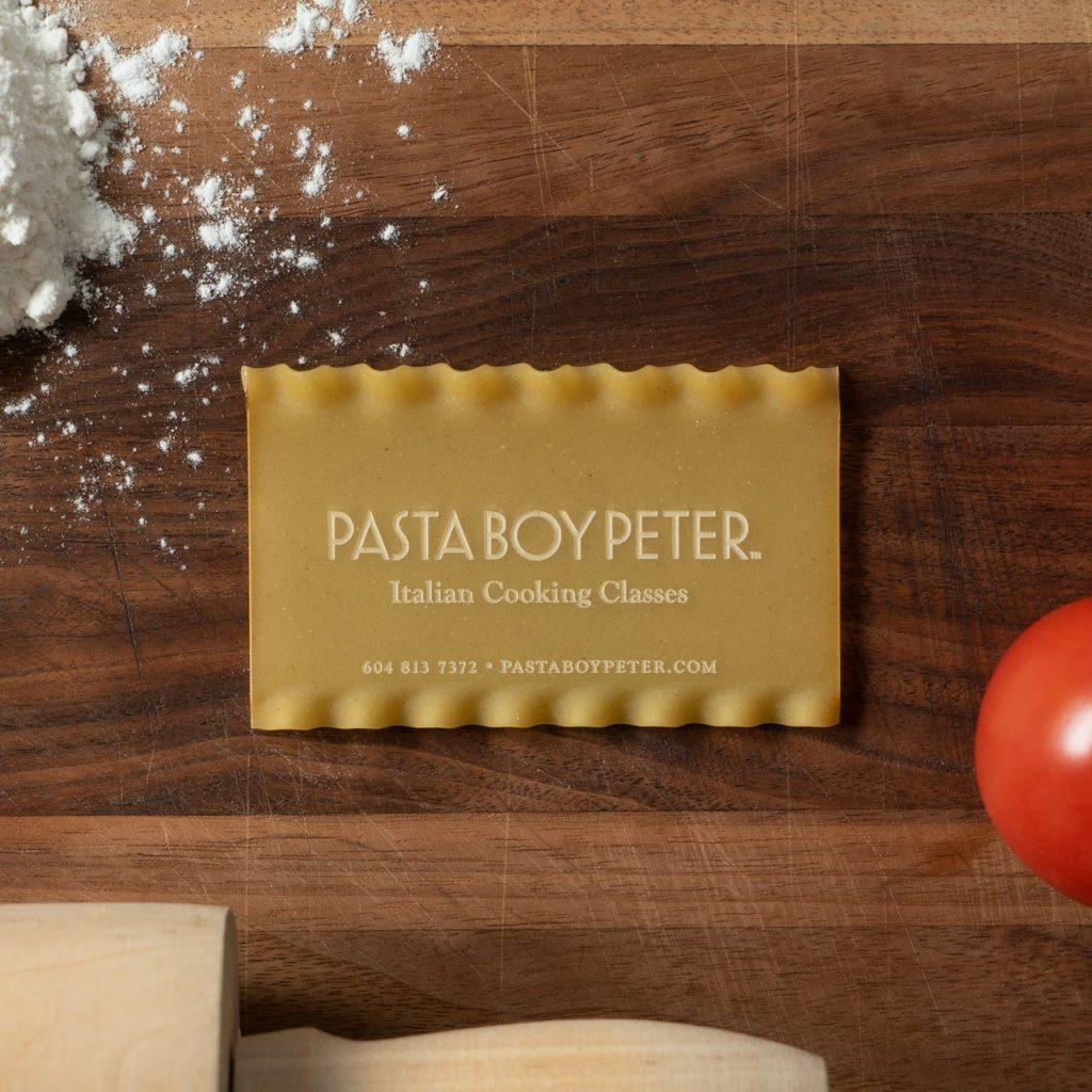 Pasta Business Cards - mini