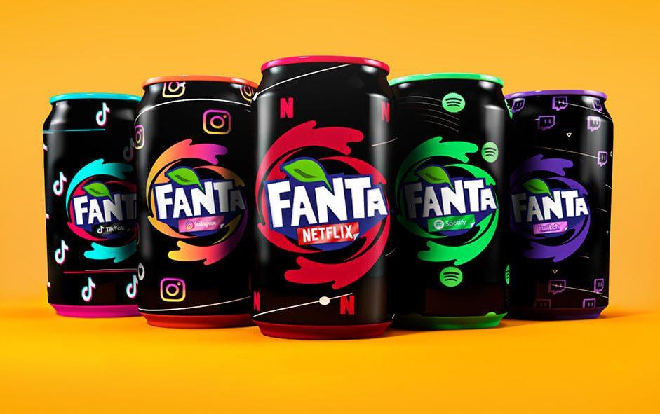 Social Flavor - Fanta - mini