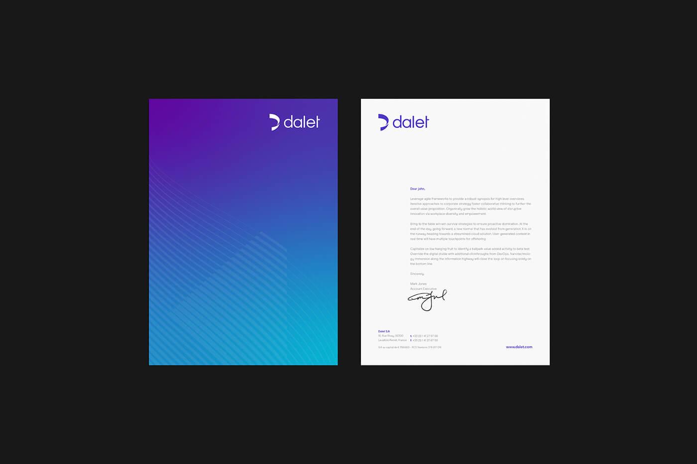 Dalet - Global Rebrand