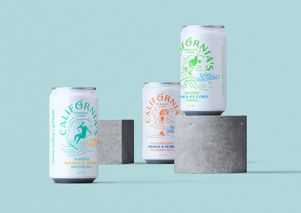California's Sparkling Water: Culturally Aware Brand - mini