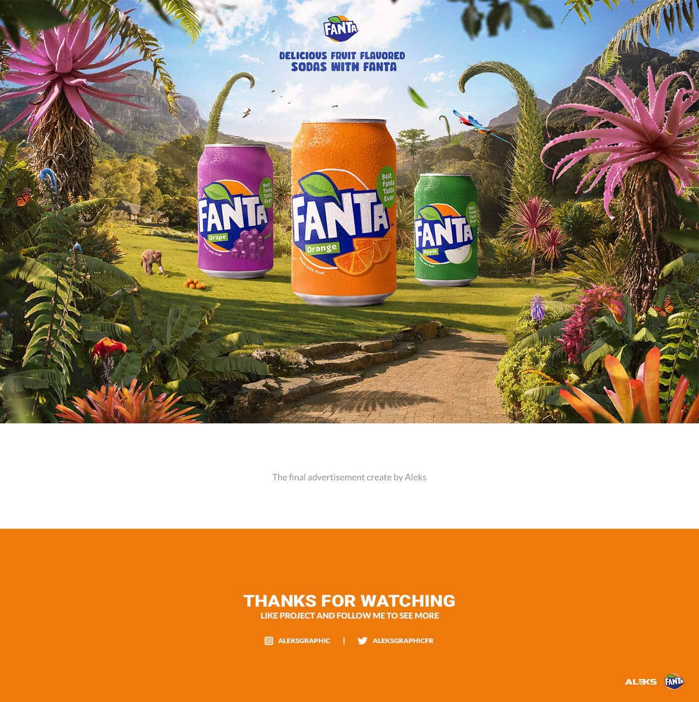 Advertisement | Fanta