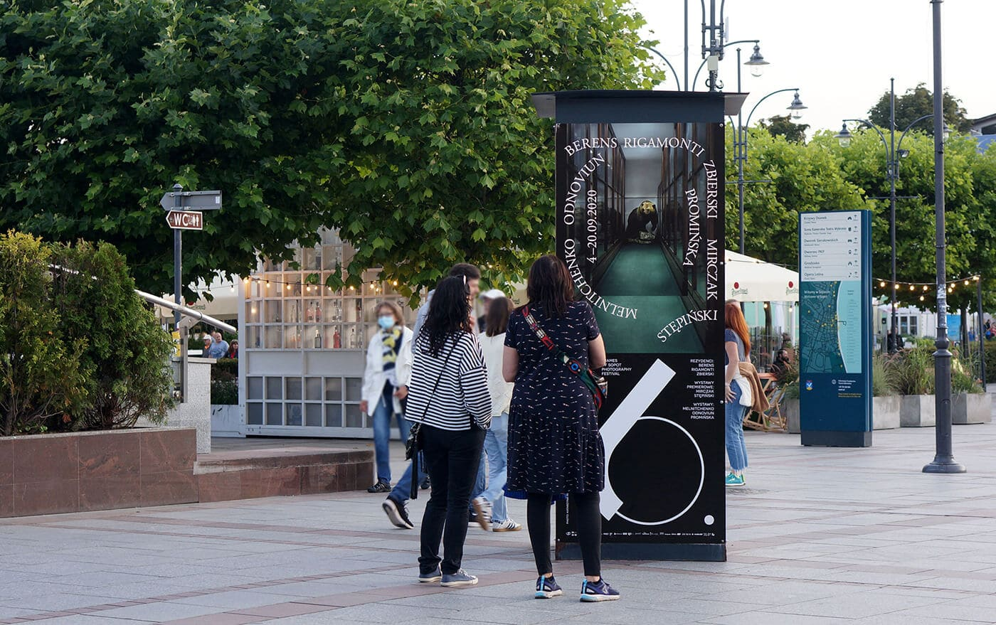 Frames of Sopot Festival - Visual Identity