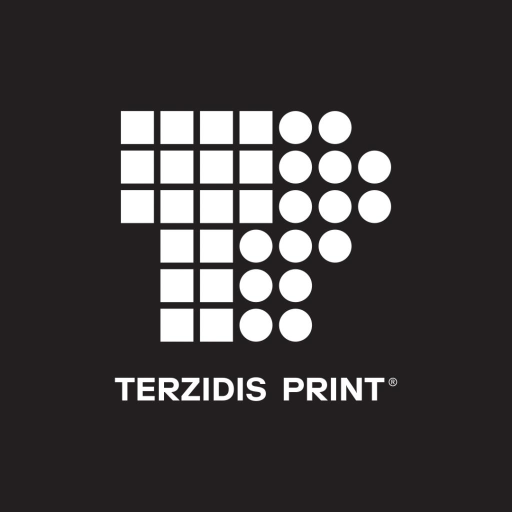 """""""TERZIDIS PRINT"""" Logo Design"""