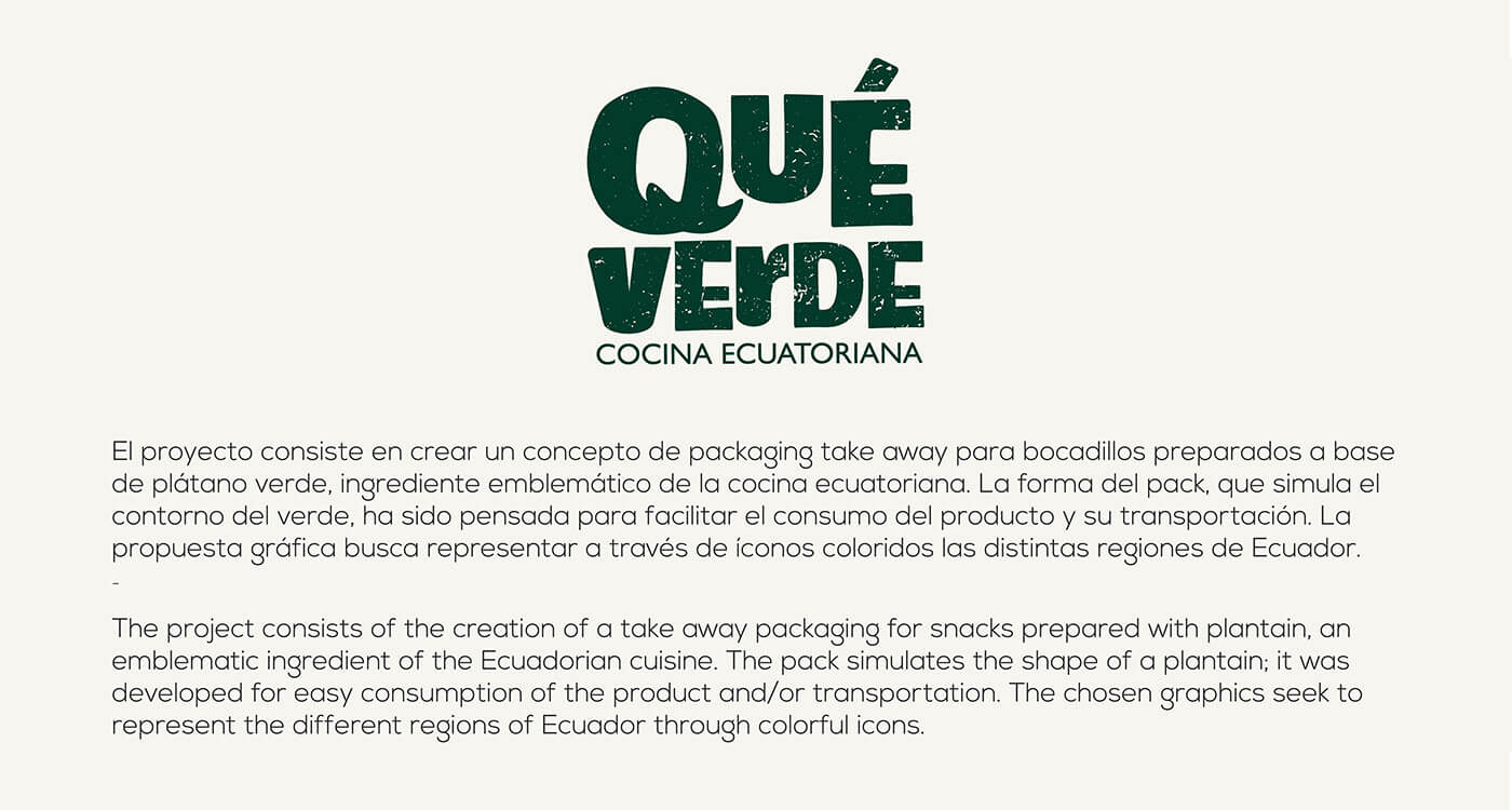 Qué verde | Take away