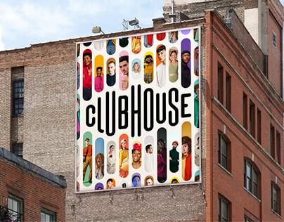 Clubhouse Brand Identity Concept - mini