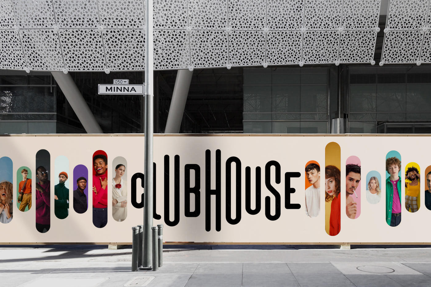 Clubhouse Brand Identity Concept