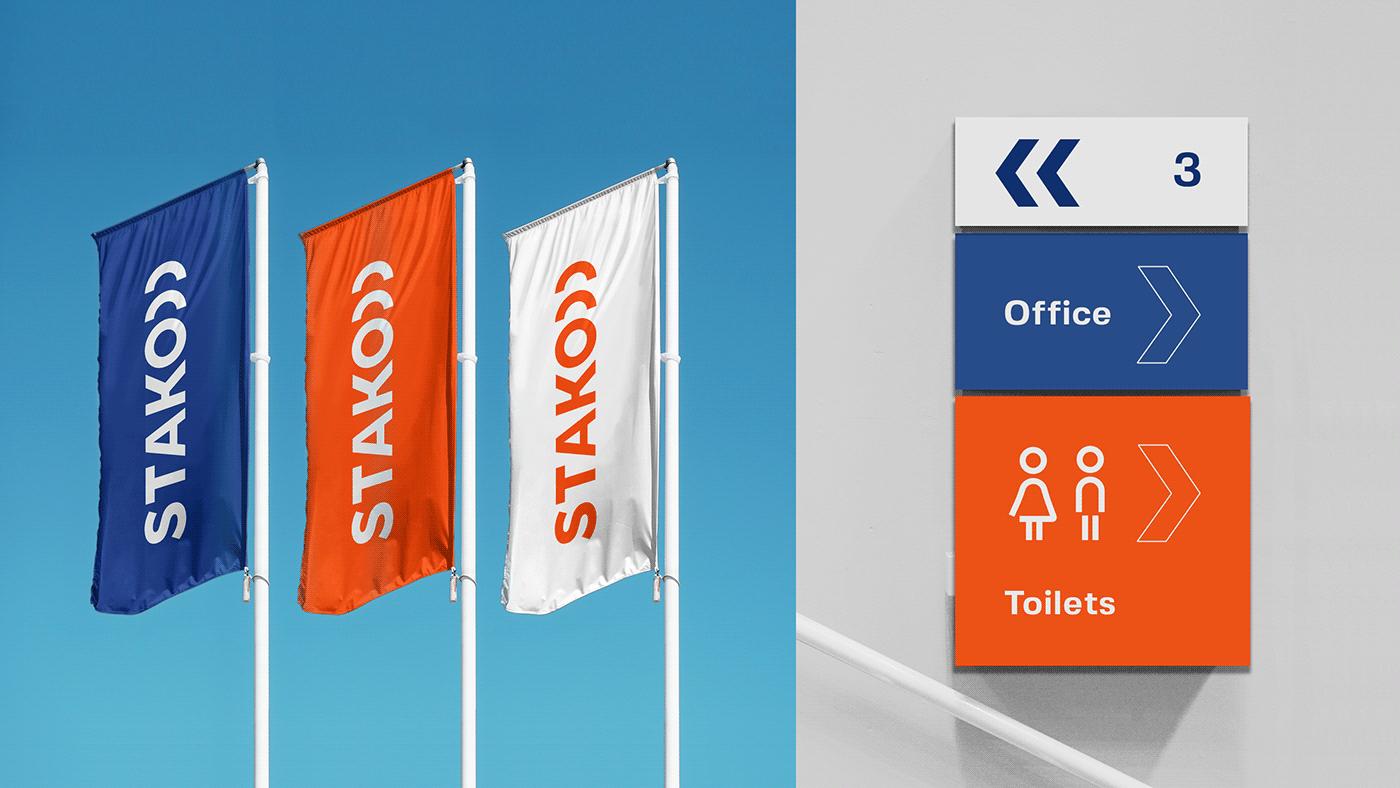 STAKO Branding