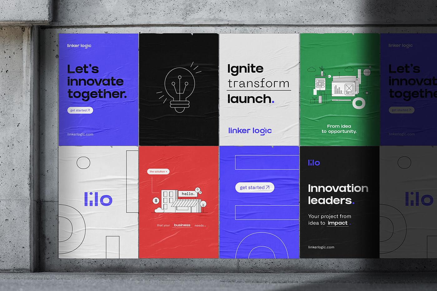 Linker Logic Branding Design
