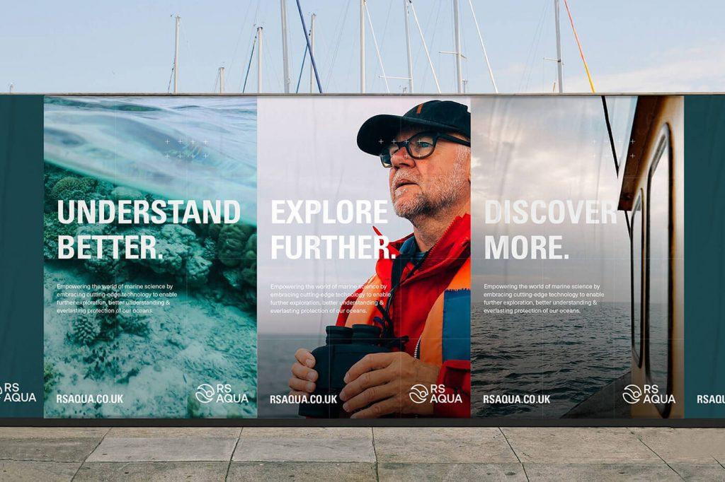 RS Aqua - Leading Marine Technology Rebrand
