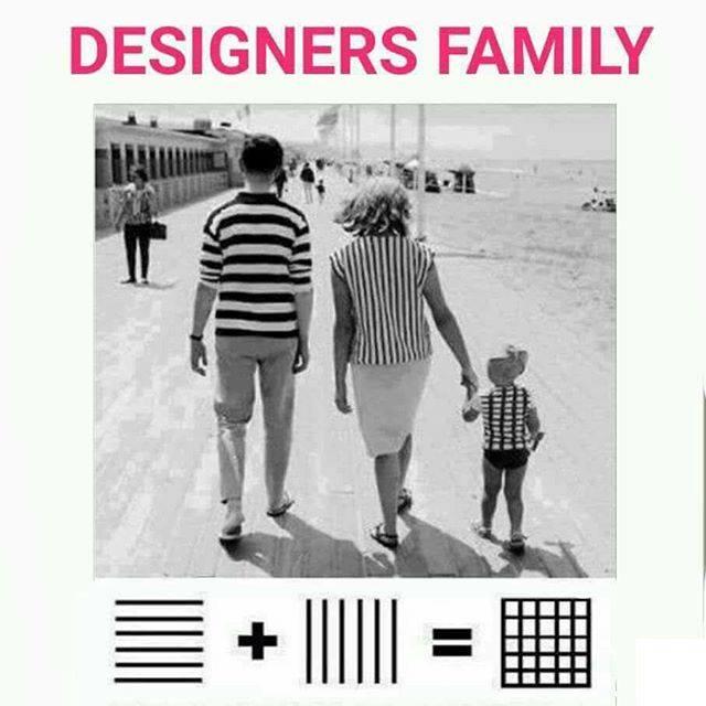 Designers family 😀