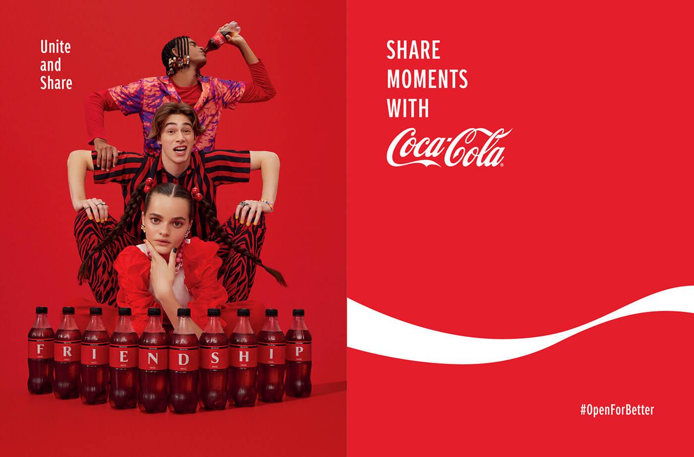 Open for Better – Share a Coke