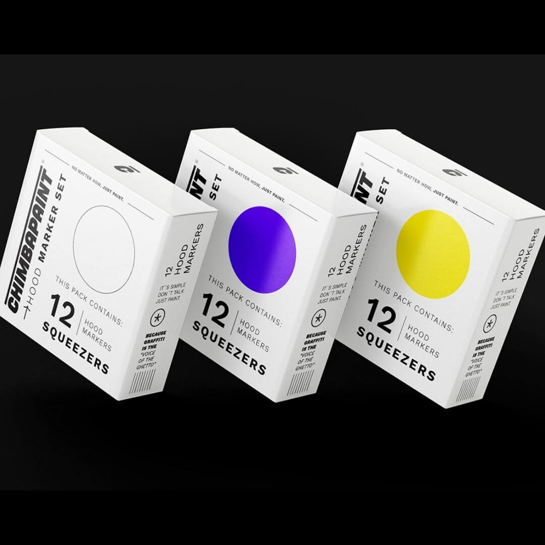 CHIMBAPAINT®. Copywriting | Branding | Packaging