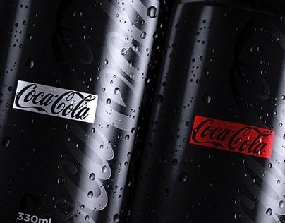 BLACKED Coca Cola, dr pepper, fanta, pepsi
