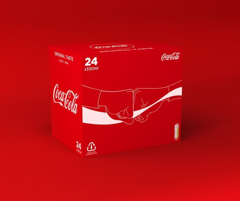 Packaging design for Coca-Cola