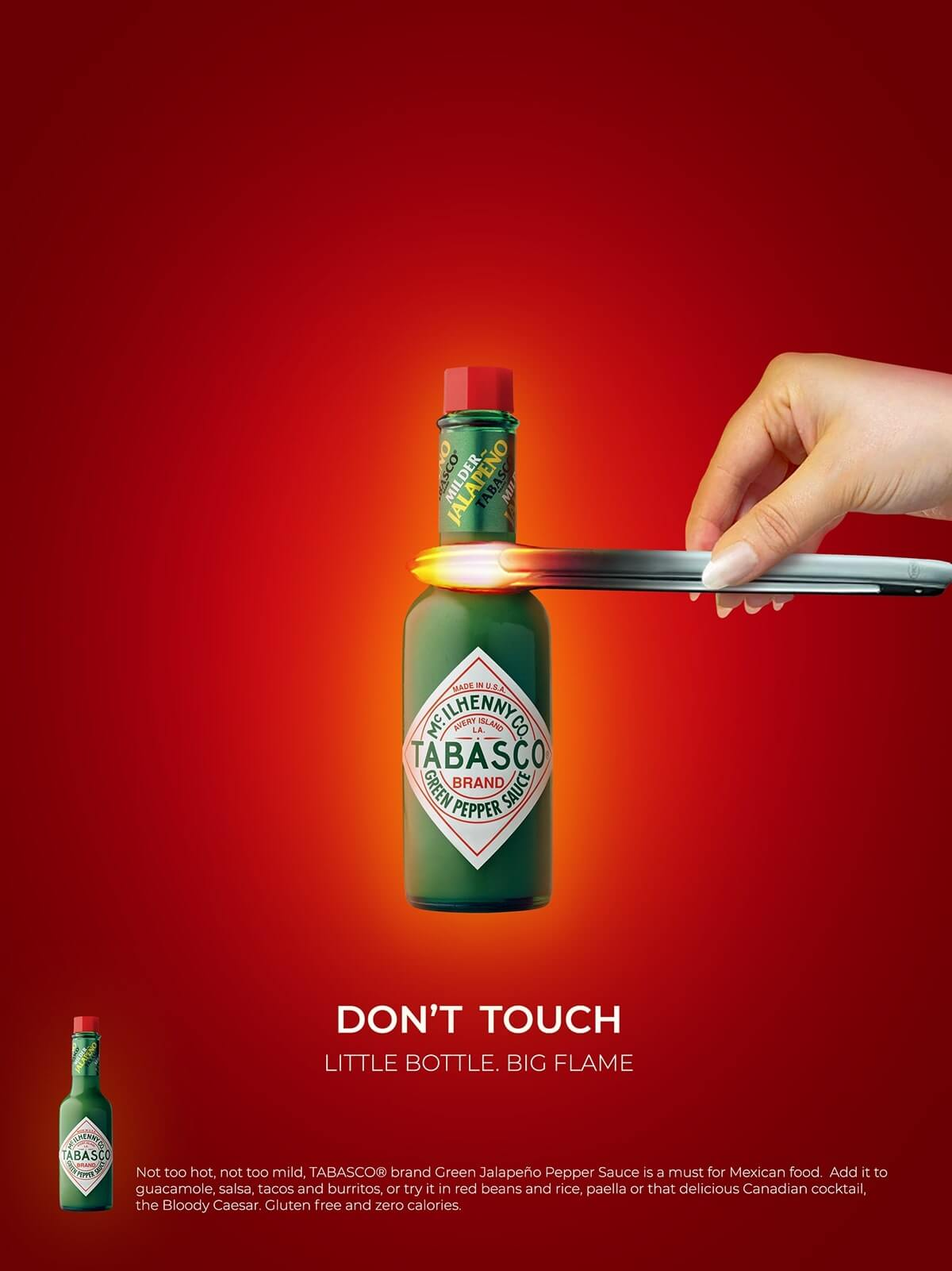 Print Advertisement for Tabasco