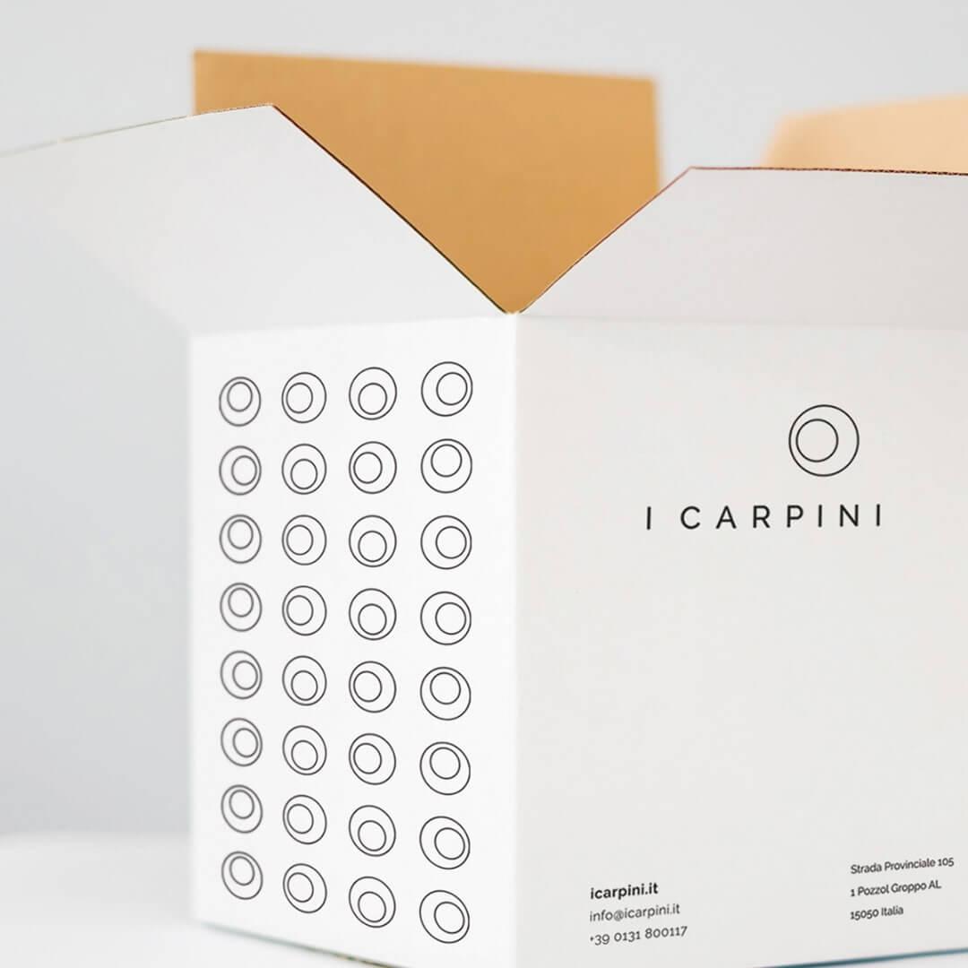 I Carpini Brand Identity