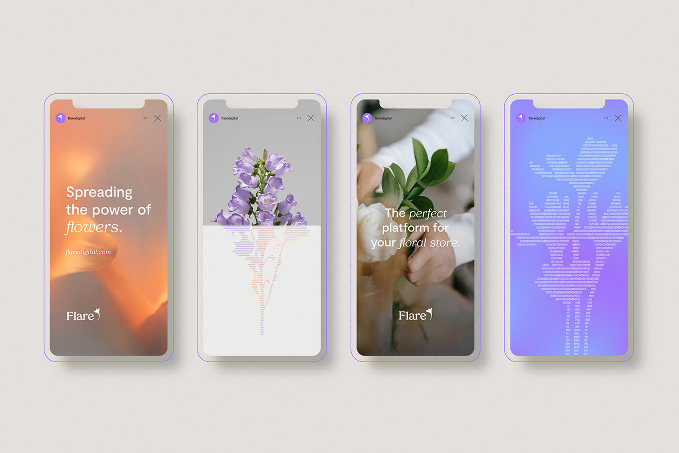 Flare is a florist system for independent flower shops across the USA