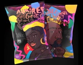 Limited Edition SOLID BLACK Doritos Bag