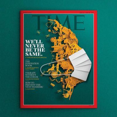 Cover Illustration for Time