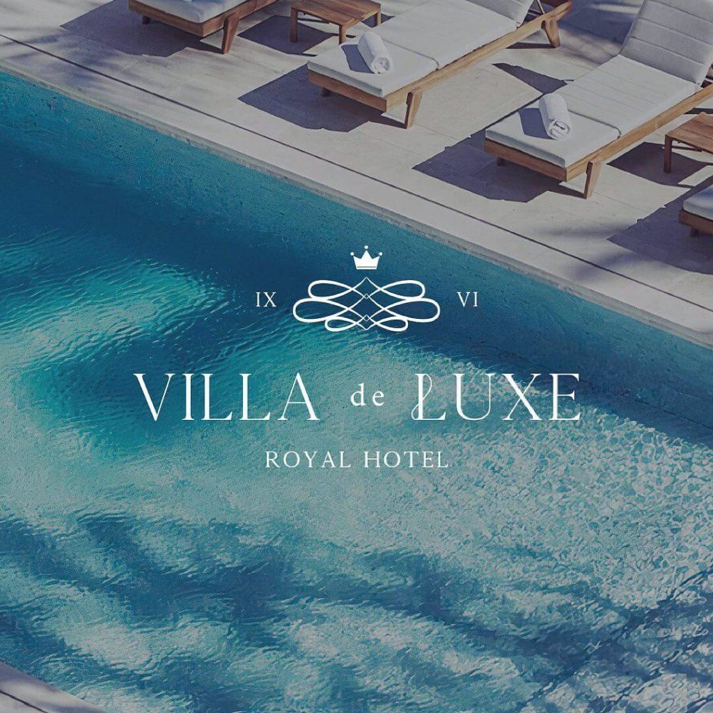 Brand Identity for a Boutique Hotel - Villa de Luxe