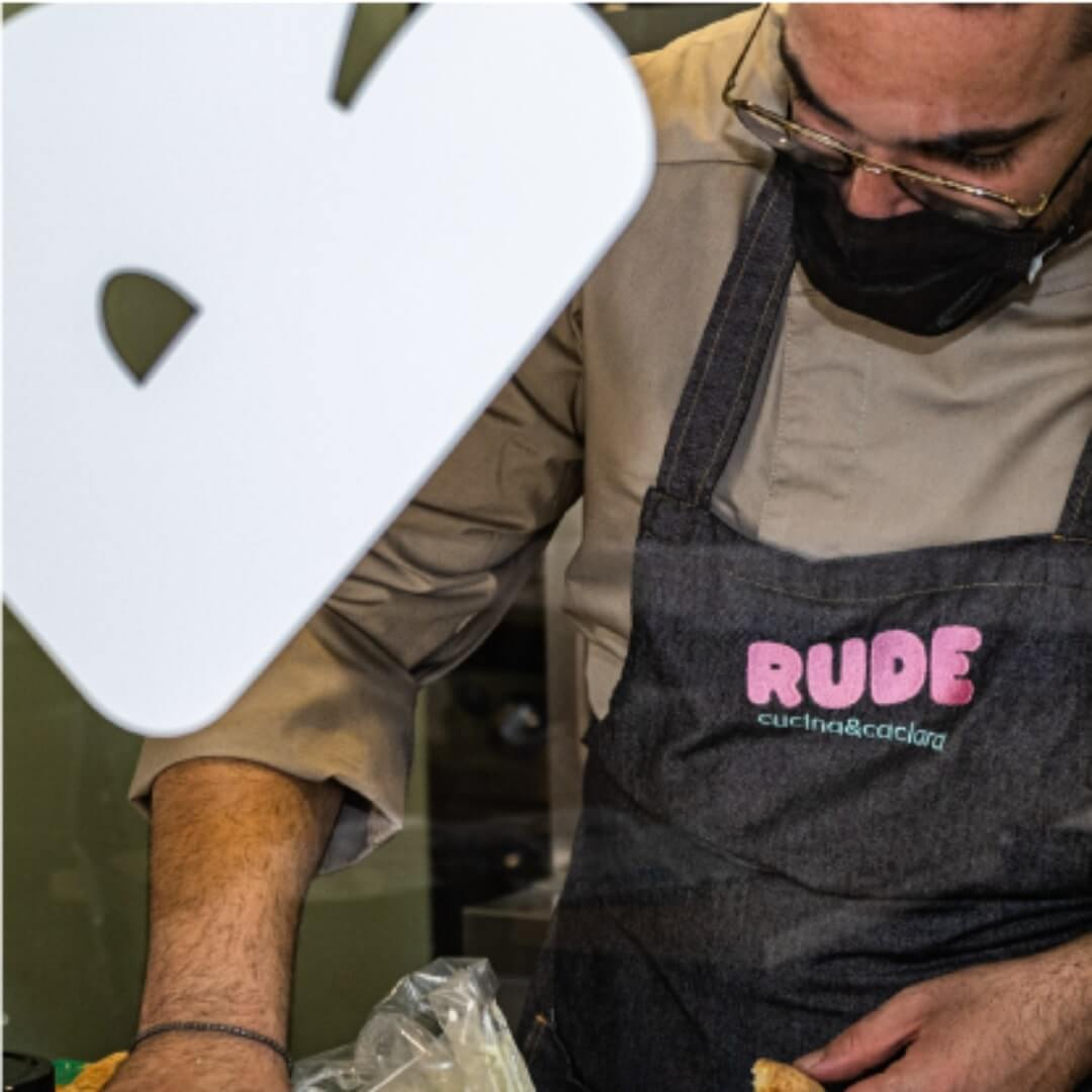 RUDE Restaurant Brand Identity