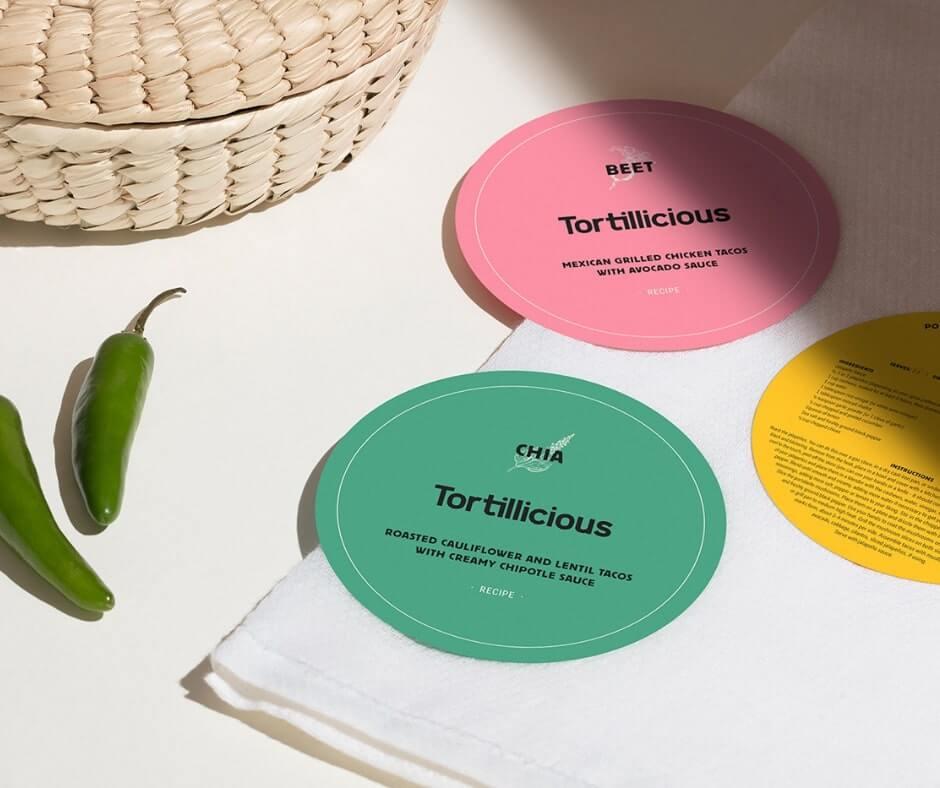 Tortillicious Brand Identity